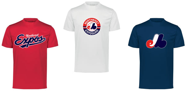 Expos Youth Performance Tee