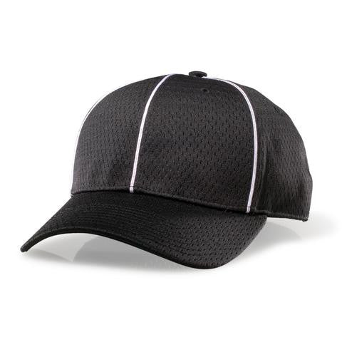Richardson Black Mesh Flex-fit Cap