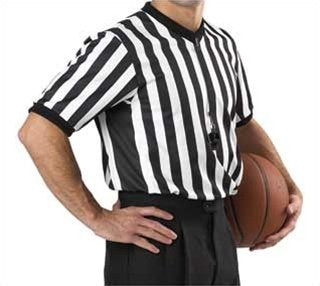 Smitty Basketball V-Neck Referee Shirt (Wide Side Panel)