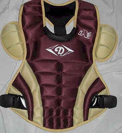 DIAMOND DCP-iX3 V1 CATCHERS CHEST PROTECTOR (Maroon/Vegas - Adult)