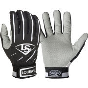 Louisville Slugger Series 5 Black Batting Gloves