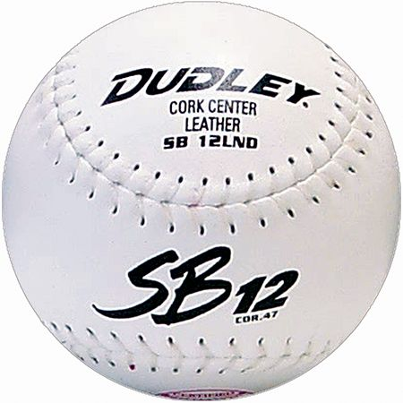 Dudley SB12LND Cork Center Softballs - Dozen