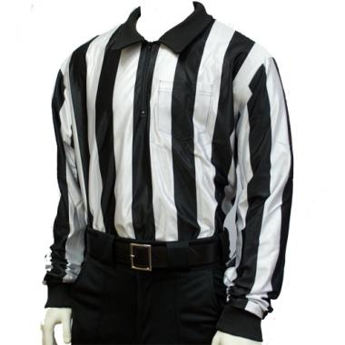 "Smitty 2"" Stripe Weatherproof Hybrid Football Ref Shirt"