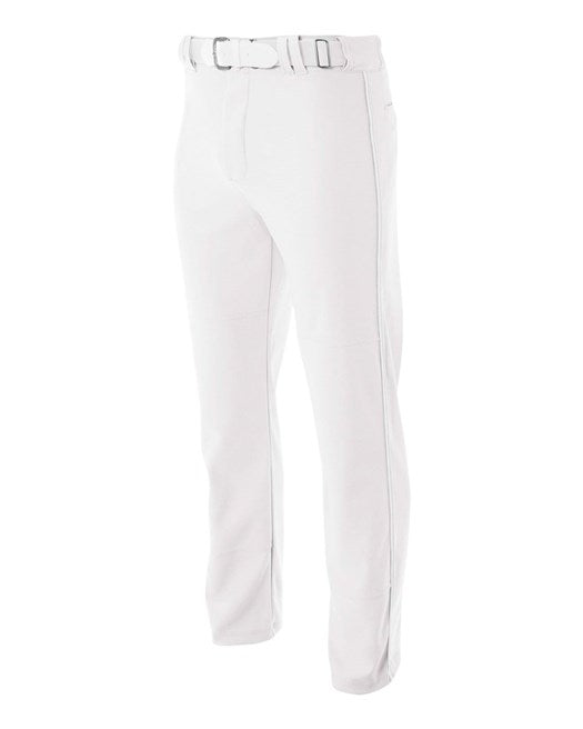 A4 Pro Style Open Bottom Baseball Pant ( White Or Grey)