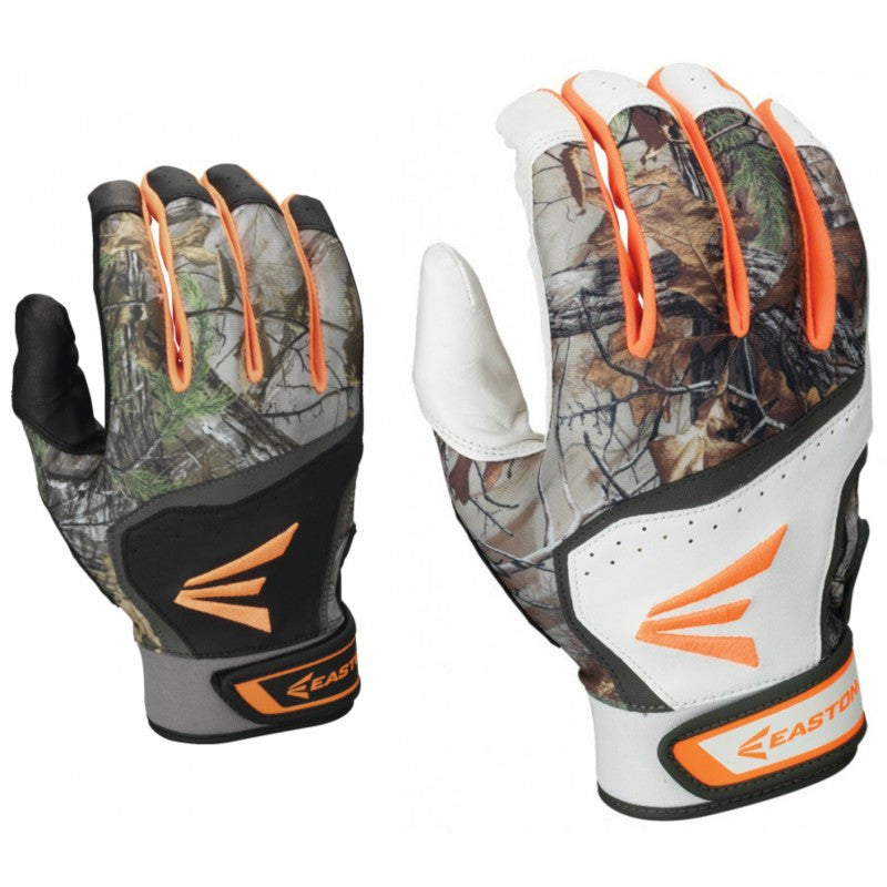 Easton Realtree HS7 Batting Gloves (Available in Adult & Youth)
