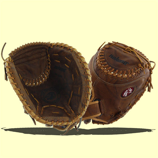 Nokona Classic Walnut Softball Fastpitch Catcher's Mitt