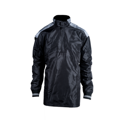 Open Bottom 1//2 Zip Umpire Jacket