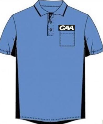 Majestic MLB Sky Blue Short Sleeved Shirt for CAA