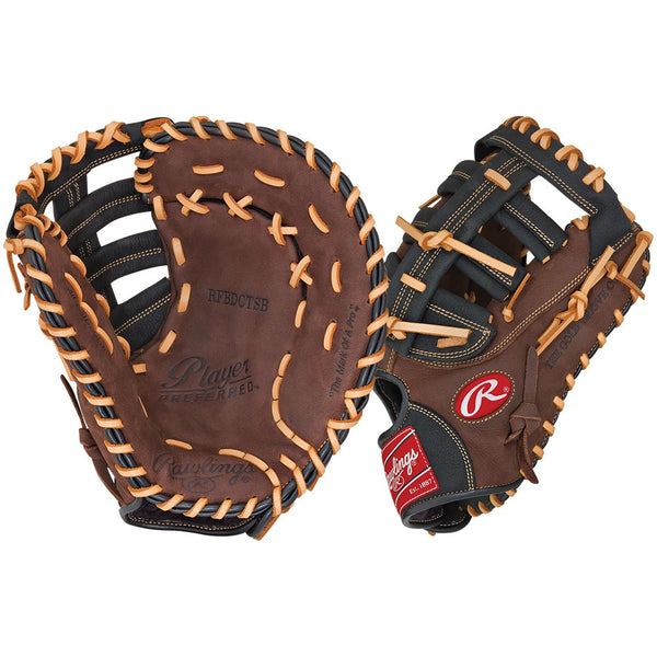 "Rawlings Player Preferred 12.5"" Baseball First Base Mitt"