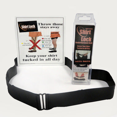SHIRT LOCK UNDERGARMENT BELT
