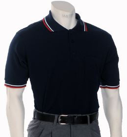 Smitty Traditional Performance Mesh Umpire Shirt - Navy