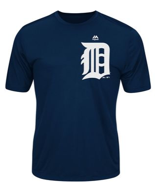 Detroit Tigers Dri Fit Evolution Shirt