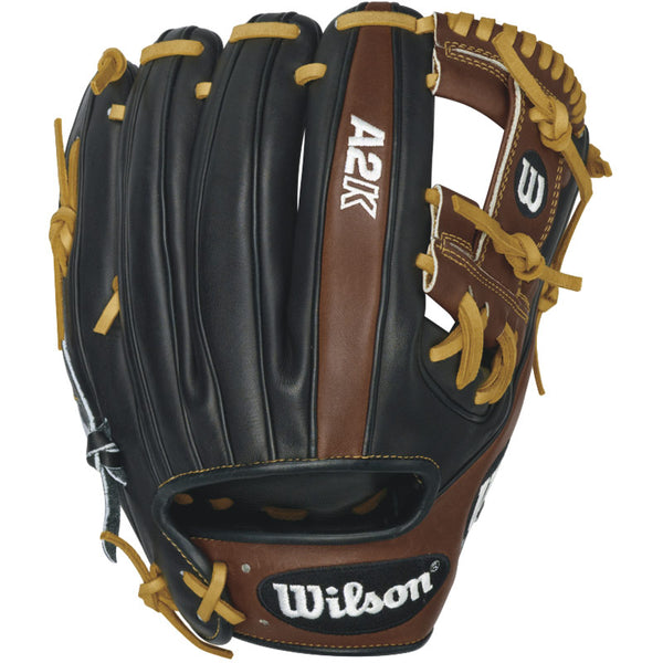 Wilson 2016 A2K Baseball Glove, Walnut/Black/Blonde
