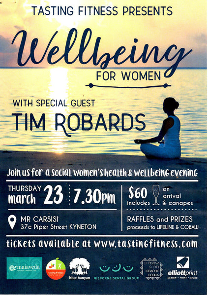 Wellbeing for Women by Tasting Fitness, Kyneton.