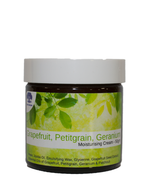 Grapefruit, Petitgrain, Geranium and Patchouli Moisture Cream - 50gm