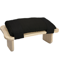 Padded Cushion for Meditation Bench (Black)