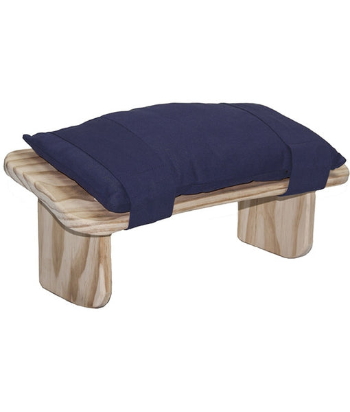 Padded Cushion for Meditation Bench (Navy)