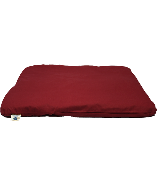 Outer Cover for Zabuton Meditation Mat (Maroon)