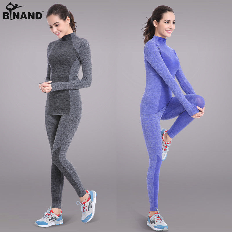 Long Sleeve Yoga Top and Yoga Pants - Yoga Clothing Set