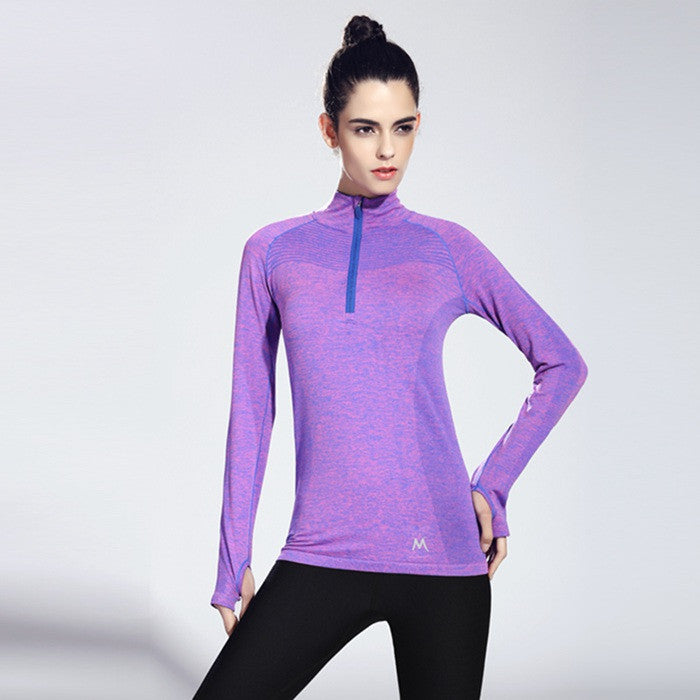 Women's Long Sleeve Yoga Top