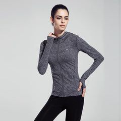 Long-Sleeved Yoga Hoodie