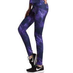 Galaxy Yoga Push Up Pants / Leggings