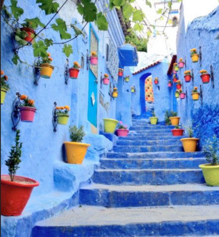 CHEFCHAOUEN COLORS