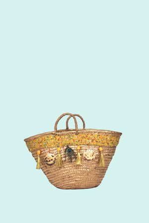 Yellow Sunshine Beach Bag