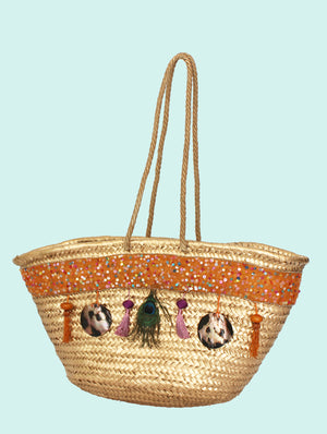 Shell Beach Bag