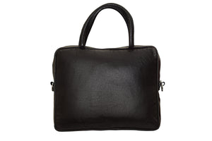 ELA LAPTOP BAG -BLACK & WHITE-