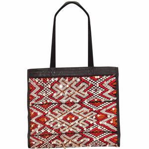 JUNGLE RED TOTE