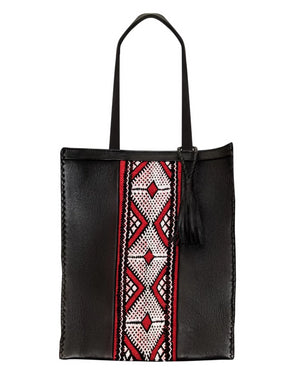MALLUN LAPTOP TOTE BAG -RED DIAMOND-
