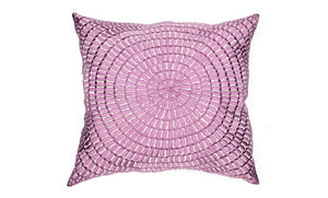 MOROCCAN EMBROIDERED PILLOW CASE-SINIYA PURPLE-