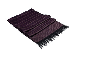 LIGHT HANDWOVEN MOROCCAN COTTON SCARF PURPLE