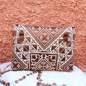 Luna Clutch in Sorrel