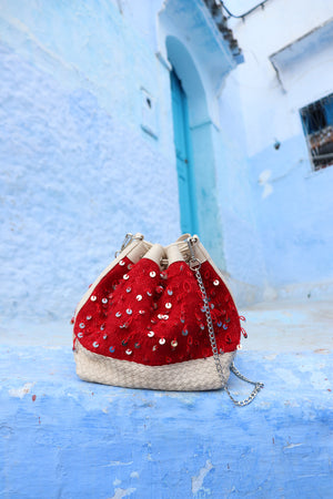 Camelia Crossbody Red Mouzouna Bag