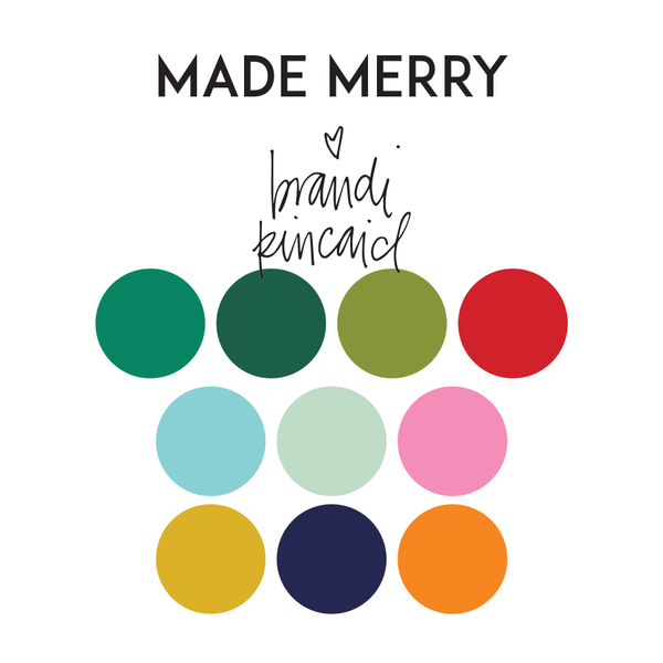 BK Made Merry color palette