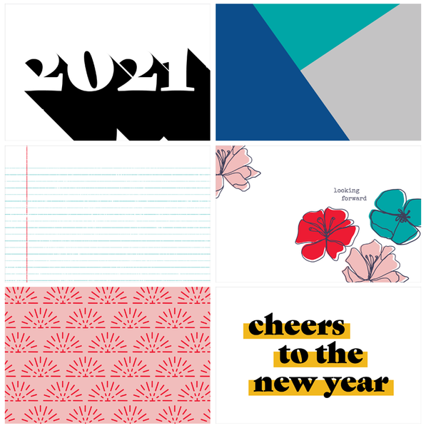 What a Year Digital Cards