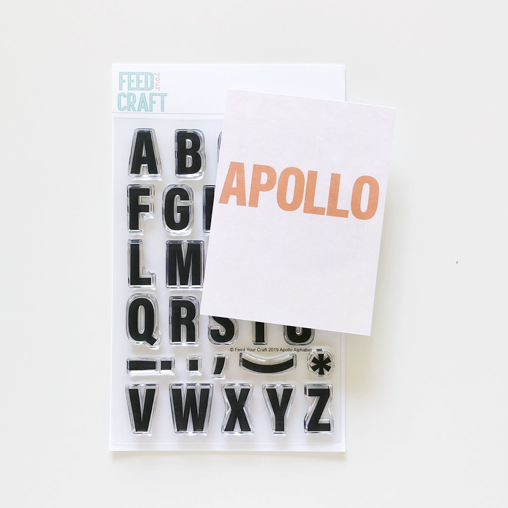 Apollo Alphabet Stamp
