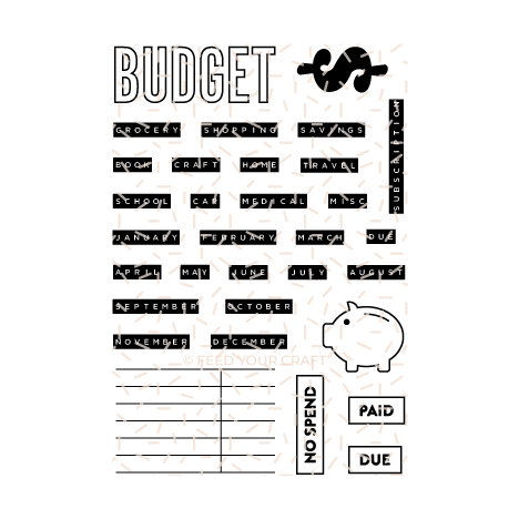 Budget For It Stamp