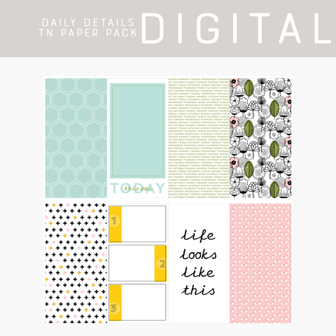 Daily Details Digital Papers