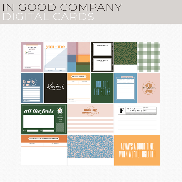 In Good Company Digital Cards