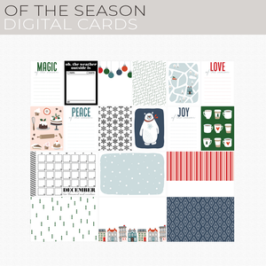 Of the Season Digital Cards