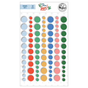 Oh, What Fun Enamel Dots