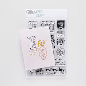 Seek Joy Stamp