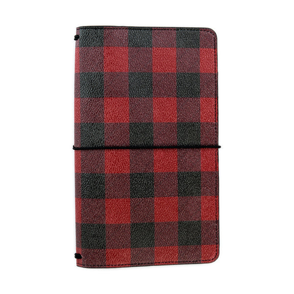 Buffalo Plaid Traveler's Notebook Cover
