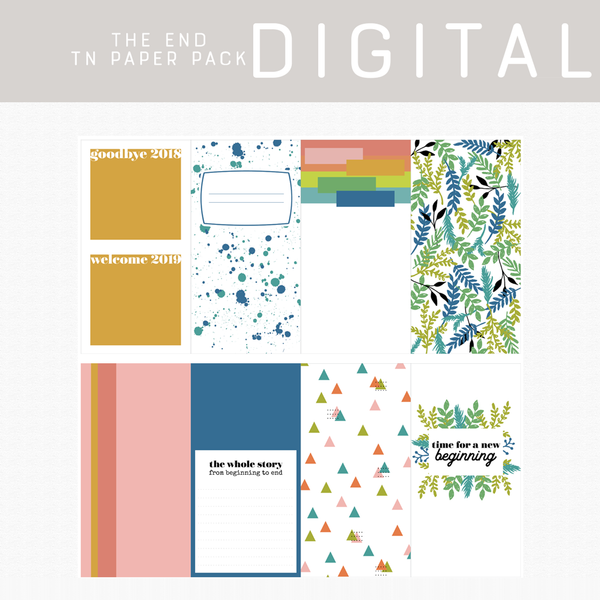 The End Digital Papers
