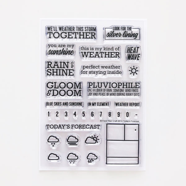 Today's Forecast Stamp