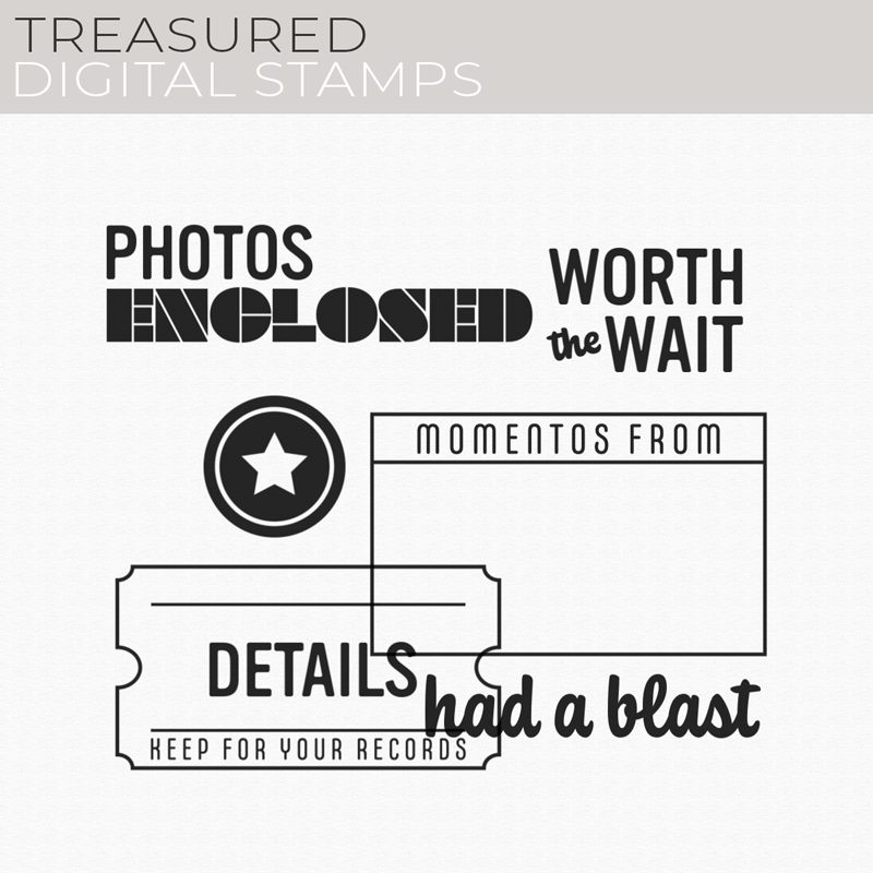 Treasured Digital Stamps