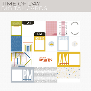 Time of Day Digital Cards